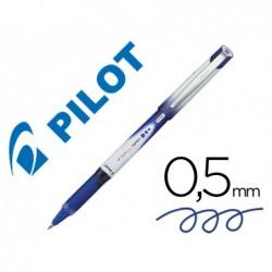 Roller pilot vball 5 pointe métal grip couleur bleu