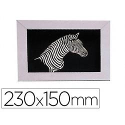 Carte à gratter oz international 23x15cm coloris noir...