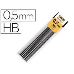 Mine bic 0.5mm hb étui 12 unités