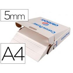 Carton plume canson a4 épaisseur 5mm unicolore blanc...