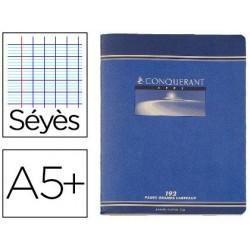 Cahier piqué conquérant sept couverture offset a5+...