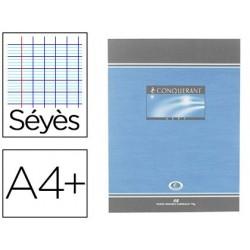Cahier piqué conquérant sept couverture offset a4+...