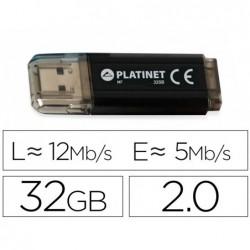 Cle usb platinet 2 v-depo 32go boitier aluminium...