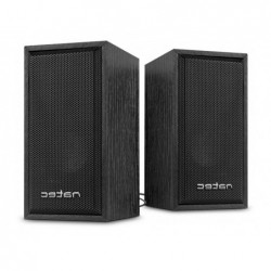 Enceintes stereo natec panther 2.0 2x3w puissance sortie...