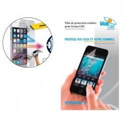 Protec.•cran bleu p.iphone 8