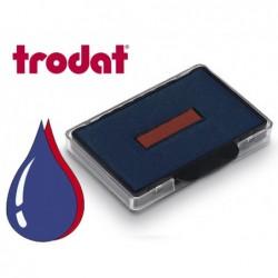 Cassette encrage bicolore trodat 6/56/2 pour tampon...