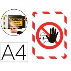Porte-affiche a4 adh. interd.
