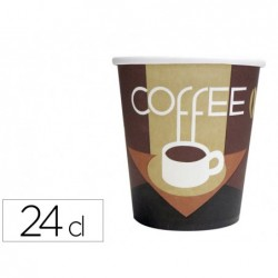Gobelet cafe carton 24cl p/50