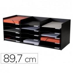 Bloc clas.20 cases 897mm noir