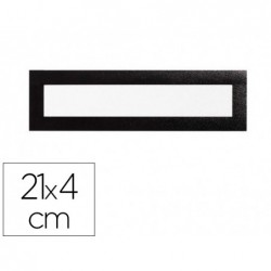 Cadre affichage durable duraframe magnetic top a4 21x4cm...