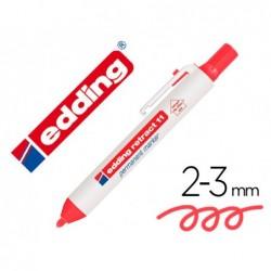 Marqueur edding permanent rétractable pointe ogive 15/3mm...