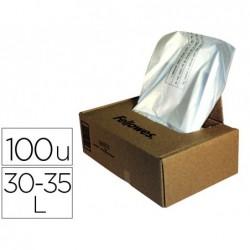 Sacs/destructeur 34l./100