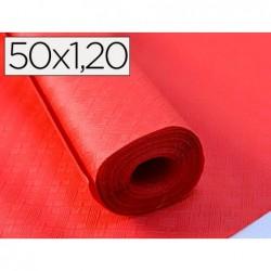 Nappe papier rl 1.20x50m rouge