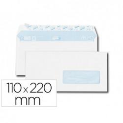 Enveloppe gpv everyday blanche 80g dl 110x220mm fenetre...