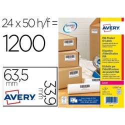 Étiquette avery identification fba compatible code barre...