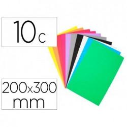 Mousse eva sodertex 2mm 200x300mm 10 coupons coloris...