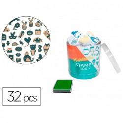 Tampons sodertex celebration 13mm + 1 encreur 32 tampons...