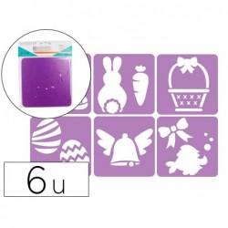 Pochoirs sodertex paques en plastique incassable 5mm...