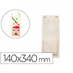 Range courriers sodertex en coton 100gm2 140x340mm 10 pcs...