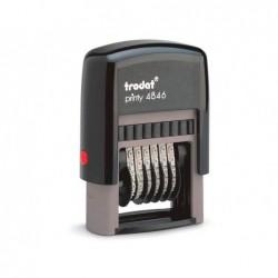 Numeroteur trodat automatique printy t4846 encrier 6/4911...