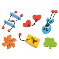 Casse-tetes et puzzles goki assemblage de pieces - set de...