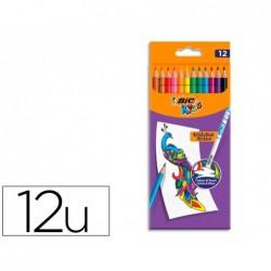 Crayon couleur bic evolution illusion resine de synthese...