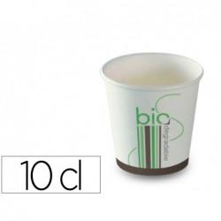 Gobelet en carton plastifie 100 pourcent biodegradable et...