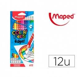 Crayon couleur effacable maped color'peps oops...