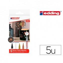 Marqueur edding e-751 peinture brillante metallique...