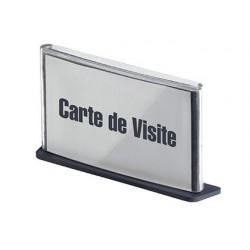 Plaque signalisation paperflow polystyrène format carte...