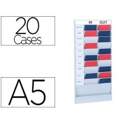 Planning paperflow polystyrène office planner 20 cases...
