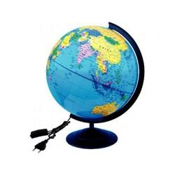 Globe terrestre wonday plastique lumineux diamètre 32cm