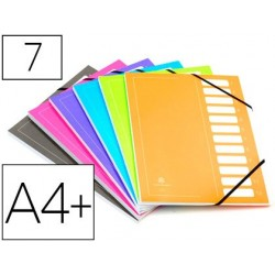 Trieur extendos carte imprimée pelliculée 240x320mm 7...