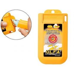 Boîte rangement pour lames usagées olfa dc4
