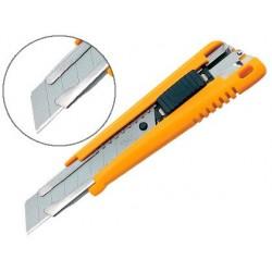 Cutter olfa xl éco corps abs lame acier 18mm blocage par...