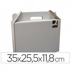 Carton valisette q-connect porte-documents 355x120x258 mm...