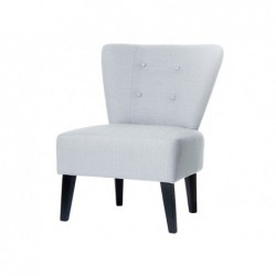 Fauteuil visiteur brighton polyester assise extra-large...
