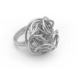 Fil aluminium argent diametre 15mm pour bijoux...