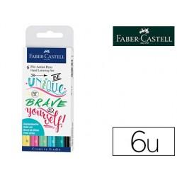 Feutre faber-castell lettering pitt artist pen encre de...