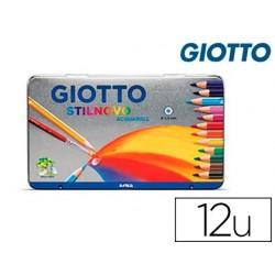 Crayon couleur giotto stilnovo acquarellable hexagonal...