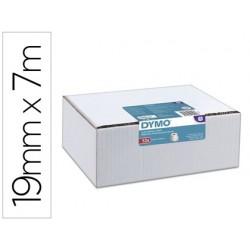 Etiquette adhesive dymo ruban d1 19mmx7m ref s0720830...