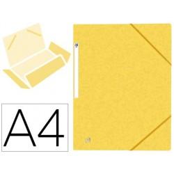 Chemise elba top file carte pelliculee jaune 390g pefc a4...