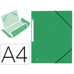 Chemise elba top file carte pelliculee vert 390g pefc a4...