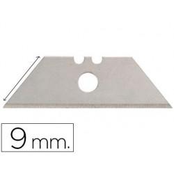 Lame rechange q-connect cutter étroit 9mm blister 10 unités