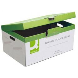 Boîte archivage définitif q-connect carton pour 5 boîtes...