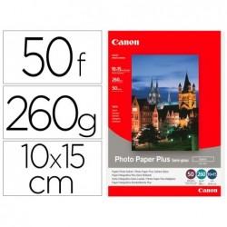 Papier photo canon jet d'encre satin 10x 15 cm 260g/m2...