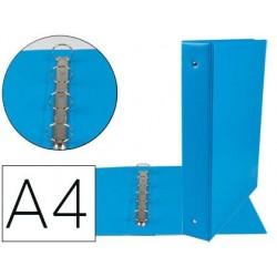 Classeur liderpapel 4 anneaux ronds 40mm a4 carton...