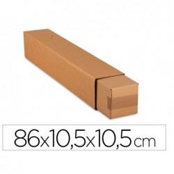 Tube quadratique antalis carton simple cannelure fond...