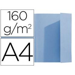Chemise 1 rabat latéral exacompta carte 160g/m2 format a4...