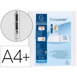 Classeur exacompta kreacover 4 anneaux en d'20mm a4+...